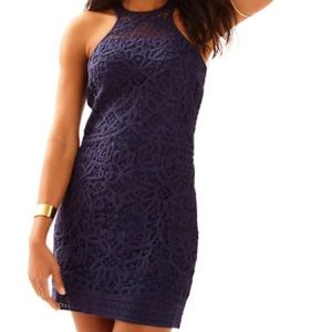 Lilly Pulitzer Jamie Knit Lace Shift Dress